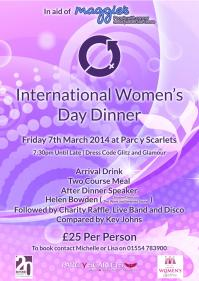 International Women's Day Dinner Parc Y Scarlets