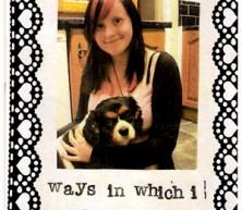 Ways In Which I Am Like My Dog (zine)