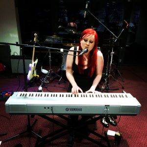 live lounge set Parc Y Scarlets International Womens Day Catherine Elms