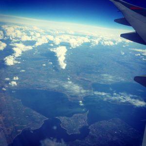 flight flying aeroplane