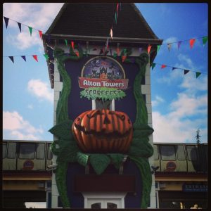 alton Towers Scarefest