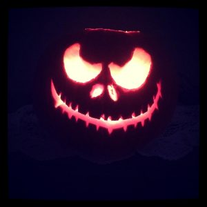 Jack Skellington pumpkin carving (Copy)