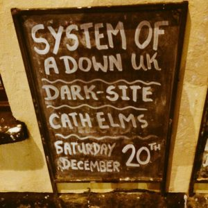 System of a Down UK Darksite Catherine Elms The Masons Llanelli