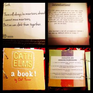 handmade love book