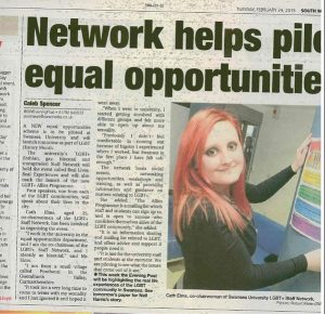 evening post article