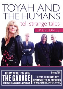 toyah and the humans the garage