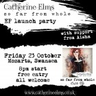 EP release party: Friday 23 October in Mozarts