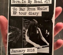 Here. In My Head. #17: EP Tour Diary (zine)