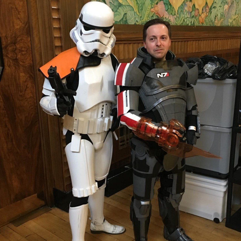 Sheppard stormtrooper swansea comic con