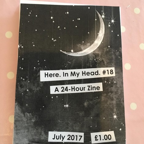 here in my head 18 feminist zine
