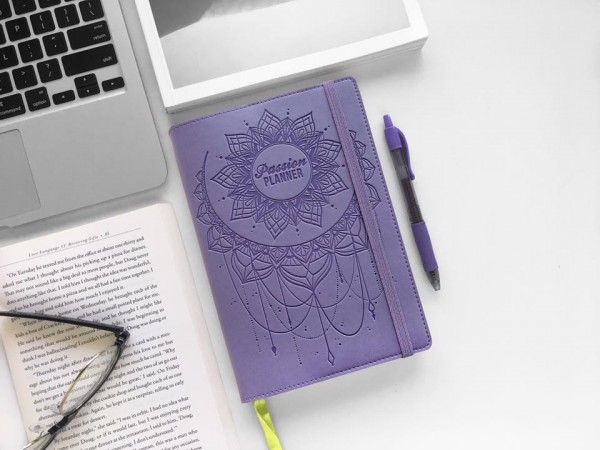 passion planner lavender dream