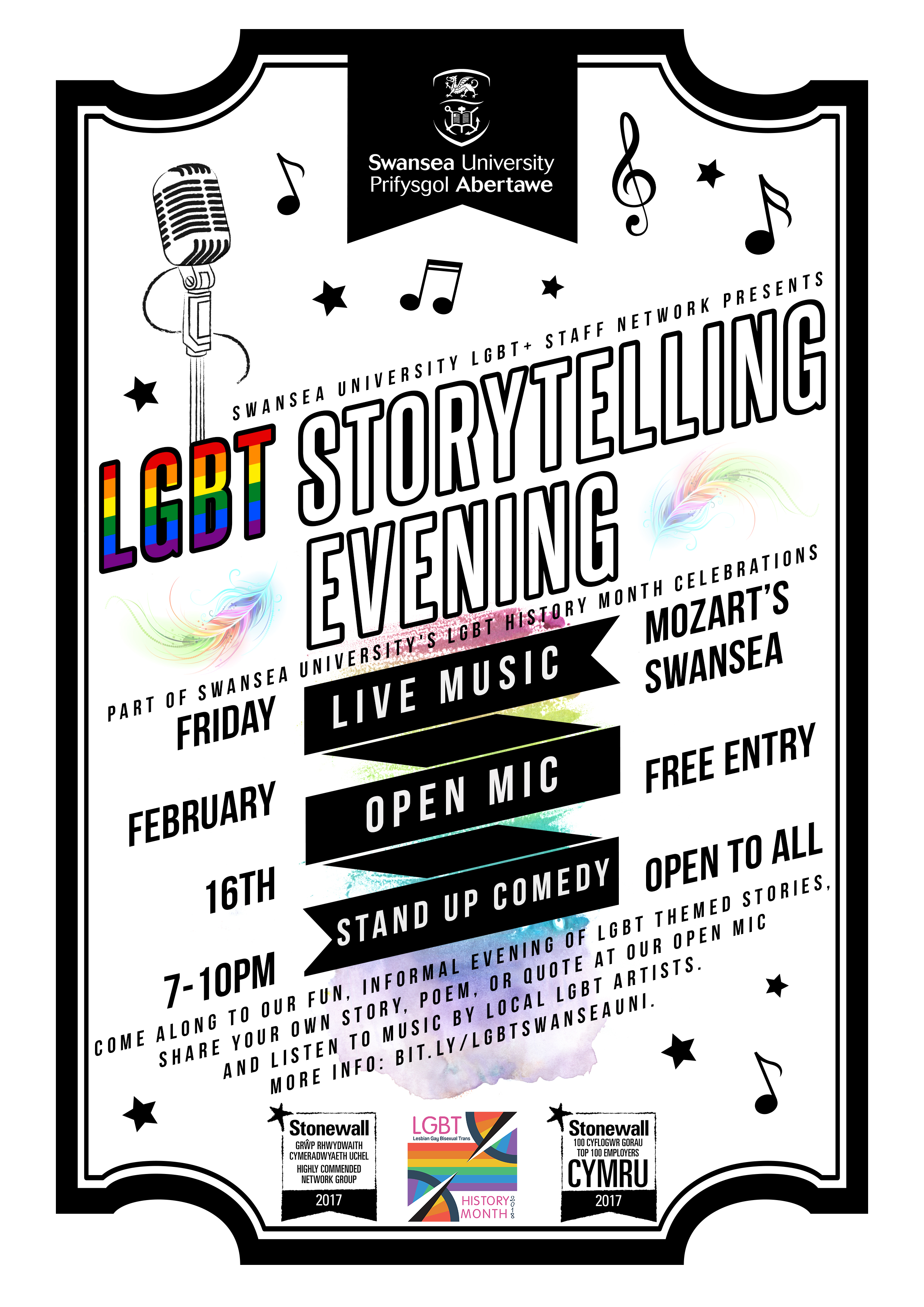 Storytelling event poster