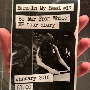 'So Far From Whole' EP Tour Diary (zine)