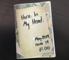 Here. In My Head. issue 19 (zine)