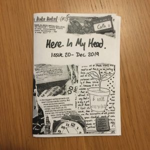 Here In My Head issue 20 cover